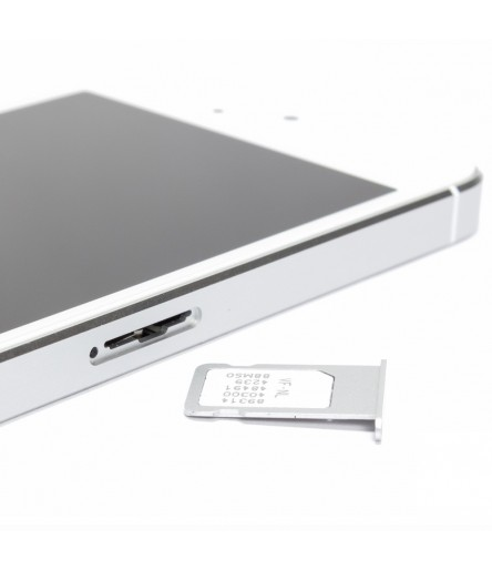 SLOT PORTA SIM SLITTA TRAY PORTA SCHEDA VASSOIO PER APPLE IPHONE 5 CARD NERO