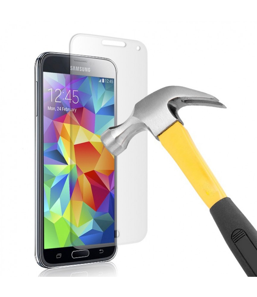 PELLICOLA PER SAMSUNG S5 I9600 G900 PROTEGGI DISPLAY SCHERMO IN VETRO TEMPERATO