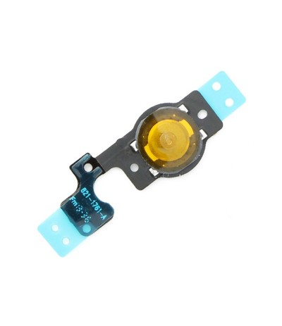 HOME BUTTON FLEX PER IPHONE 5 C 5C PULSANTE CENTRALE BOTTONE TASTO HOME APPLE