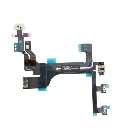 FLAT FLEX PER IPHONE 5C TASTO TASTI PULSANTE VOLUME MUTO MUTE ON/OFF POWER