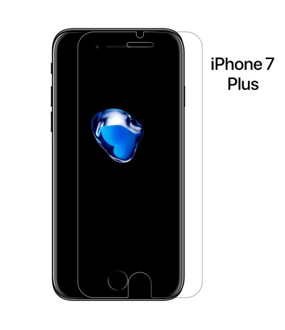 "PELLICOLA VETRO TEMPERATO PER APPLE IPHONE 7 PLUS 5.5"" PROTEGGI DISPLAY SCHERMO"
