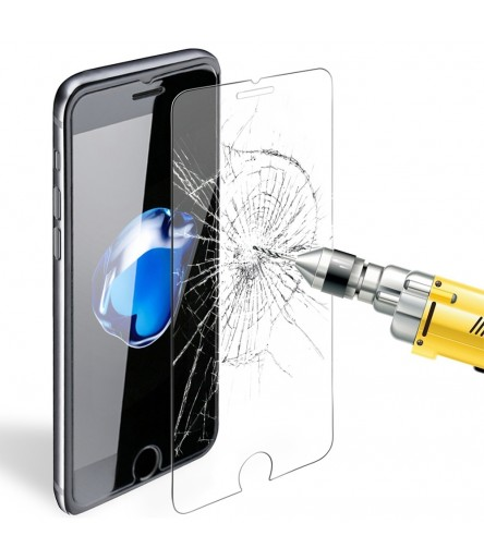 DOTTORPHONE® CUSTODIA SLIM TRASPARENTE VETRO TEMPERATO PER IPHONE SAMSUNG HUAWEI