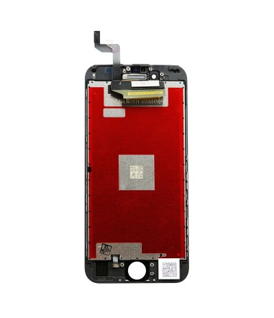 TOUCH SCREEN FRAME VETRO LCD DISPLAY RETINA SCHERMO 4.7 PER APPLE IPHONE 6S NERO