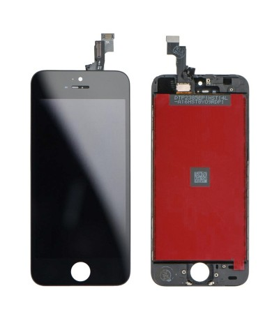 TOUCH SCREEN VETRO LCD DISPLAY RETINA SCHERMO PER APPLE IPHONE 5 SE 5SE NERO