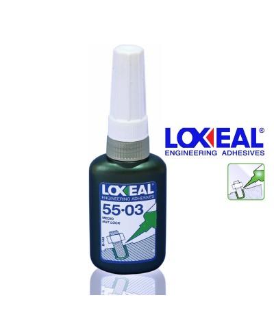 LOXEAL 55-03 SERRAFILETTI 10 ML. ADESIVO FRENAFILETTI BULLONI (LOCTITE 243)