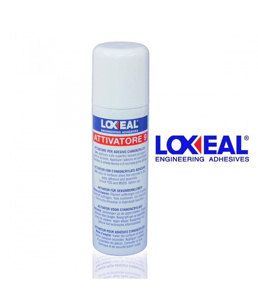 LOXEAL 9 PRIMER ATTIVATORE SPRAY 200 ML BASE PER INDURIMENTO RAPIDO COLLE COLLA