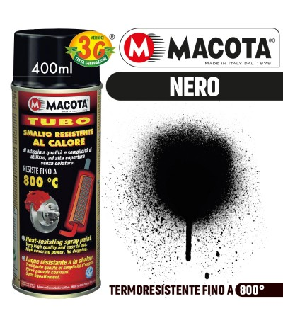 MACOTA VERNICE RESISTENTE ALTE TEMPERATURE SMALTOE 800° CALORE PINZE FRENO SPRAY