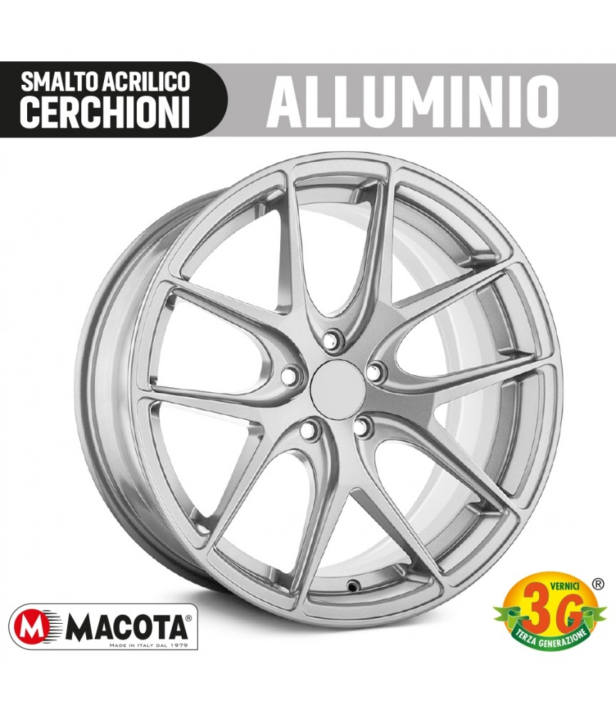 MACOTA SMALTO SPECIALE CERCHIONI VERNICE SPRAY 400ML ACRILICO ANTIGRAFFIO TUNING