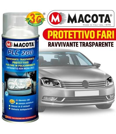 MACOTA VERNICE SPRAY 400ML PLC 200 RAVVIVANTE TRASPARENTE FARI PROTETTIVO TUNING