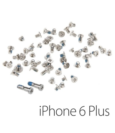KIT SET VITI COMPLETO PER APPLE IPHONE 6 5,5 PLUS RIPARAZIONE RICAMBIO RICAMBI