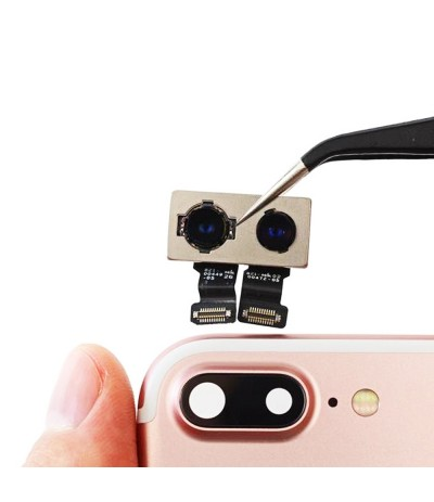 FLAT FLEX MODULO FOTOCAMERA POSTERIORE REAR CAMERA PER IPHONE 7 PLUS RICAMBIO