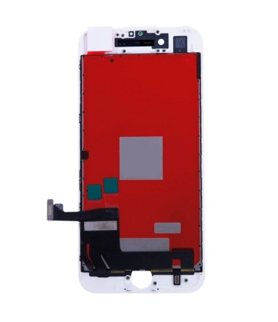 TOUCH SCREEN VETRO LCD DISPLAY RETINA SCHERMO PER APPLE IPHONE 8 PLUS BIANCO WHITE
