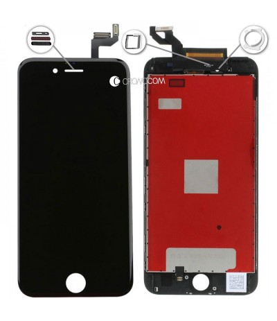 TOUCH SCREEN VETRO LCD DISPLAY RETINA SCHERMO 5.5 PER APPLE IPHONE 6S PLUS NERO