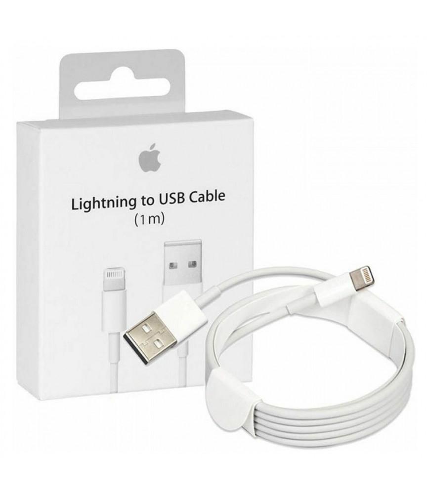 CAVO DATI USB LIGHTNING ORIGINALE APPLE PER IPHONE IPAD MD818ZM/A 1mt