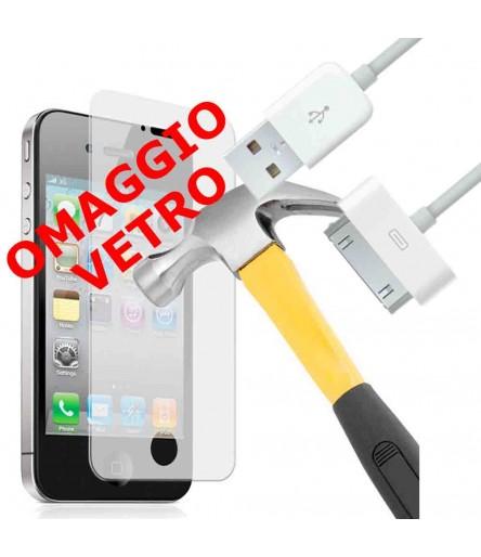 CAVO USB 30 PIN PER IPHONE 4G 4S OMAGGIO PELLICOLA IN VETRO TEMPERATO