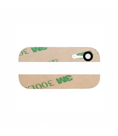 KIT 2 VETRI PER IPHONE 5 BIANCO COVER POSTERIORE VETRO WHITE