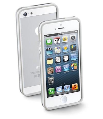 BUMPER COVER CUSTODIA TPU GOMMA PELLICOLA PROTEZIONE PER APPLE IPHONE 5 5G 5S