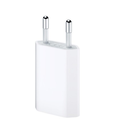 CARICATORE CARICABATTERIE 5W ORIGINALE APPLE MD813ZM/A PER IPHONE IPAD MINI IPOD