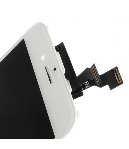 TOUCH SCREEN FRAME VETRO LCD DISPLAY RETINA SCHERMO 4.7 PER IPHONE 6 BIANCO