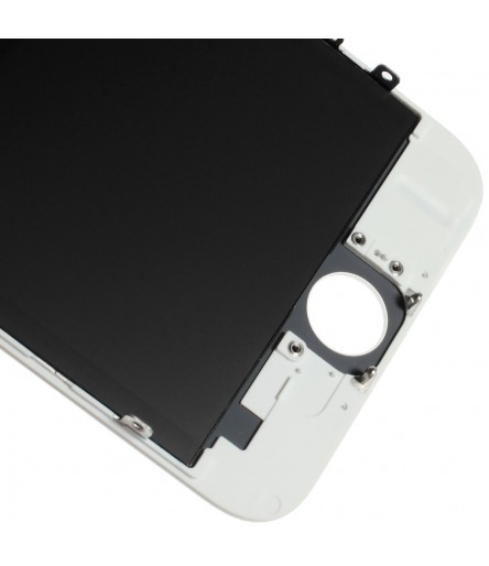TOUCH SCREEN FRAME VETRO LCD DISPLAY RETINA SCHERMO 4.7 PER IPHONE 6 BIANCO