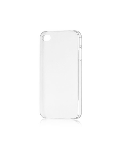 CRYSTAL COVER CUSTODIA CASE BUMPER PER APPLE IPHONE 5 SLIM TRASPARENTE