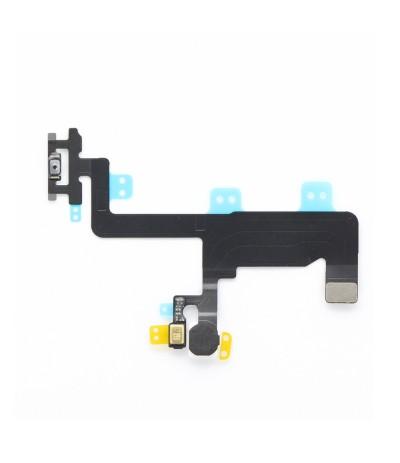 FLAT FLEX PER IPHONE 6 4,7 TASTO TASTI PULSANTE POWER ON OFF MICROFONO FLASH