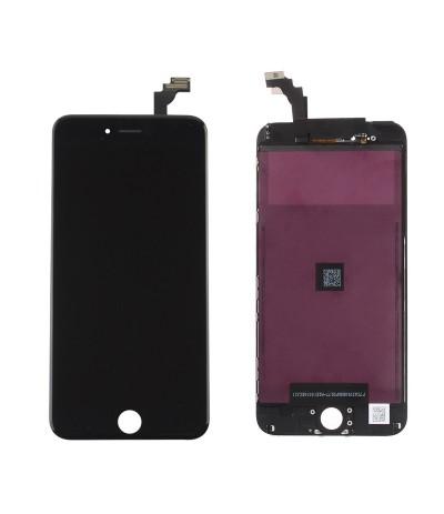 TOUCH SCREEN FRAME VETRO LCD DISPLAY RETINA SCHERMO 5.5 PER IPHONE 6 PLUS NERO