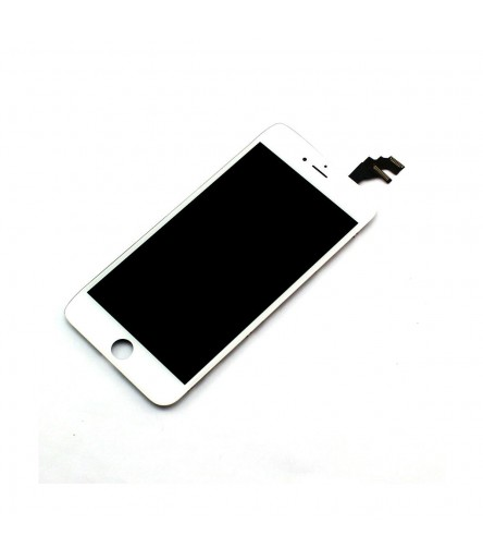 TOUCH SCREEN FRAME VETRO LCD DISPLAY RETINA SCHERMO 5.5 PER IPHONE 6 PLUS BIANCO