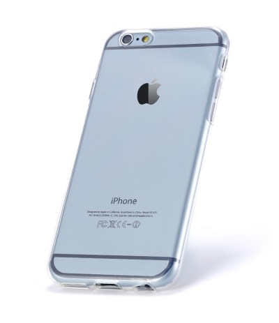 COVER CUSTODIA CASE SOTTILE TRASPARENTE PER APPLE IPHONE 5 TPU SILICONE MORBIDO