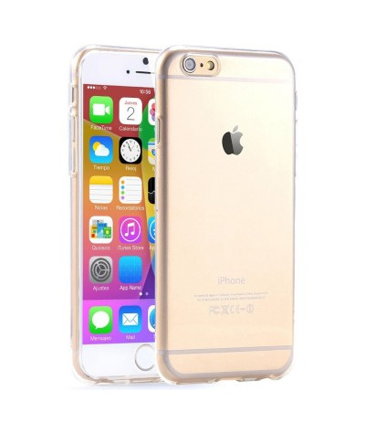COVER CUSTODIA CASE SOTTILE TRASPARENTE PER APPLE IPHONE 6 TPU SILICONE MORBIDO