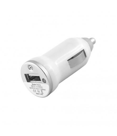 CARICABATTERIE CARICATORE AUTO USB ALIMENTATORE ACCENDISIGARI PER IPHONE