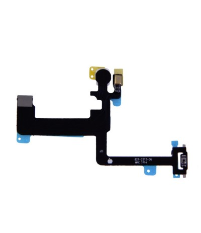 FLAT FLEX PER IPHONE 6 PLUS 5,5 TASTO TASTI PULSANTE POWER ON OFF MICROFONO FLASH