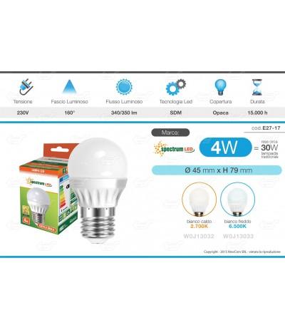 LAMPADINE LED LIFE KANLUX E27 DA 2W A 40W LAMPADA SFERA MINI GLOBO BULB ECO