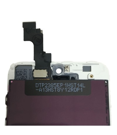 TOUCH SCREEN VETRO DISPLAY SCHERMO LCD RETINA PER IPHONE 5S BIANCO ASSEMBLATO