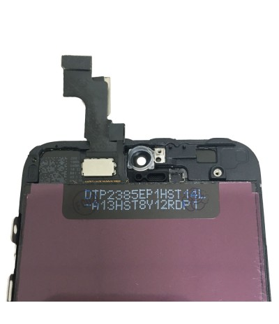 TOUCH SCREEN VETRO DISPLAY SCHERMO LCD RETINA PER IPHONE 5S NERO ASSEMBLATO