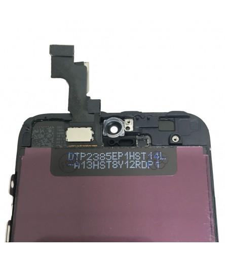 TOUCH SCREEN VETRO DISPLAY SCHERMO LCD RETINA PER IPHONE 5S NERO ASSEMBLATO