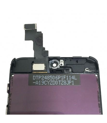 TOUCH SCREEN VETRO DISPLAY SCHERMO LCD RETINA PER IPHONE 5C NERO ASSEMBLATO