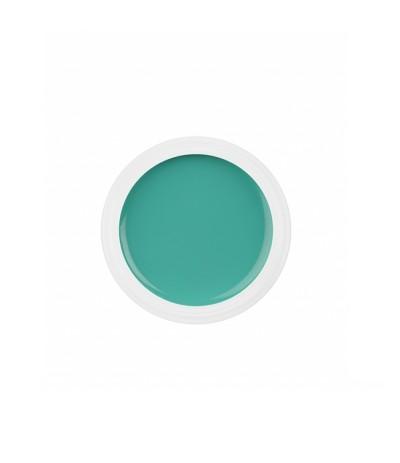 GEL UV COLORATO PURE 5 ML RICOSTRUZIONE UNGHIE COLORE AURORA GREEN VERDE NDED