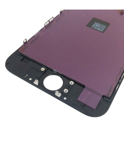 TOUCH SCREEN FRAME VETRO LCD DISPLAY RETINA SCHERMO 4.7 PER APPLE IPHONE 6 NERO