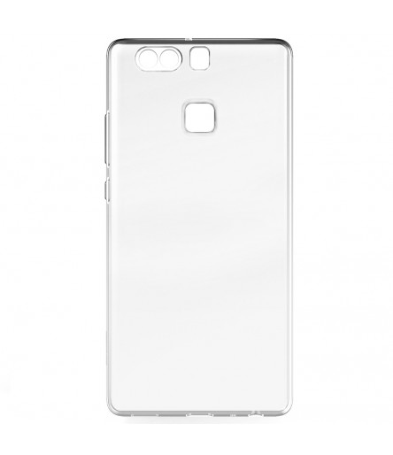 COVER BACK CASE TPU PER ASCEND HUAWEI P9 CUSTODIA SOFT SILICONE TRASPARENTE SLIM